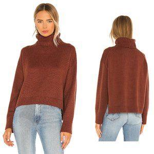 525 Long Sleeve Cinnamon Turtleneck Sweater NWT S